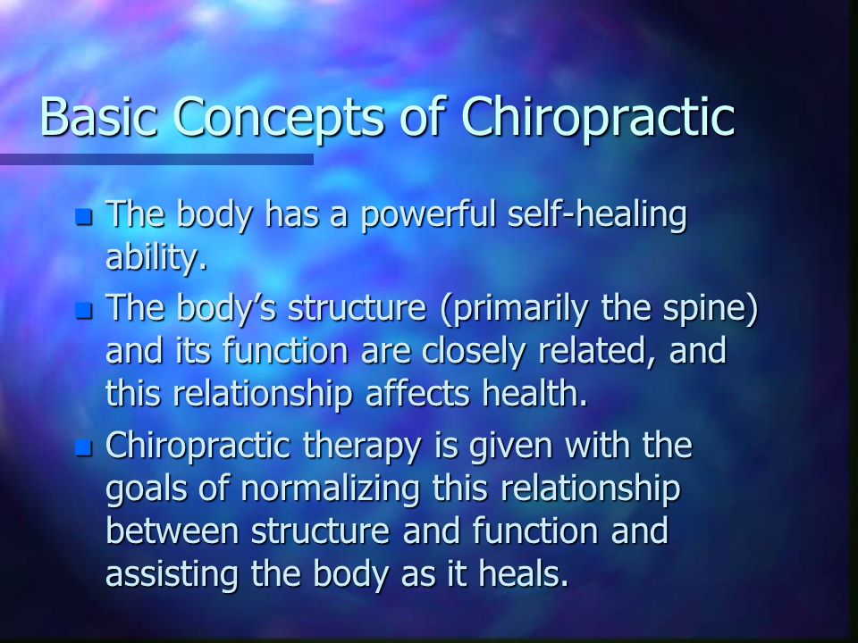 The Chiropractor n In the U.S.chiropractors perform over 90% of manipulative treatments.