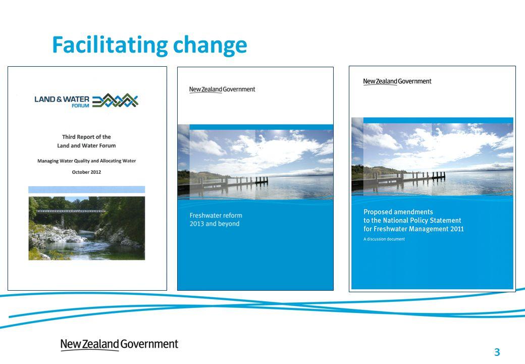 3 Facilitating change