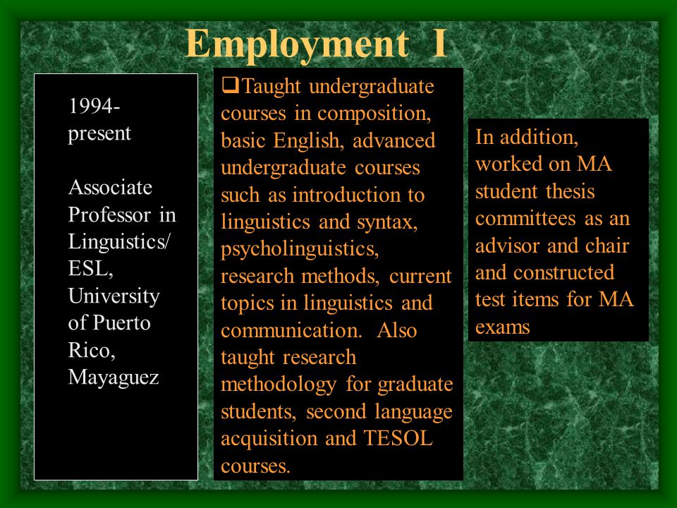 Ph.D in Curriculum and Instruction, University of Illinois at Urbana-Champaign USA MA in Linguistics, University of Reading, Oxford shire, England BA in Archaeology minor in Historical Linguistics, University of Athens, Greece  1987-1993  1984-1985  1979-1982 EDUCATIONEDUCATION