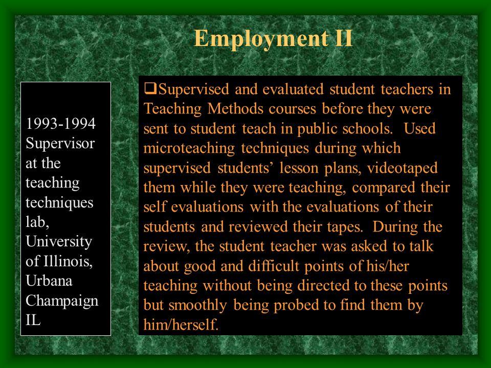 Sabbatical in Florida International University 2001-2