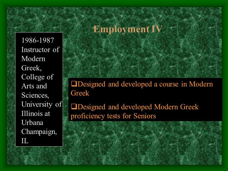 Sabbatical in Florida International University (2001-2) 3.