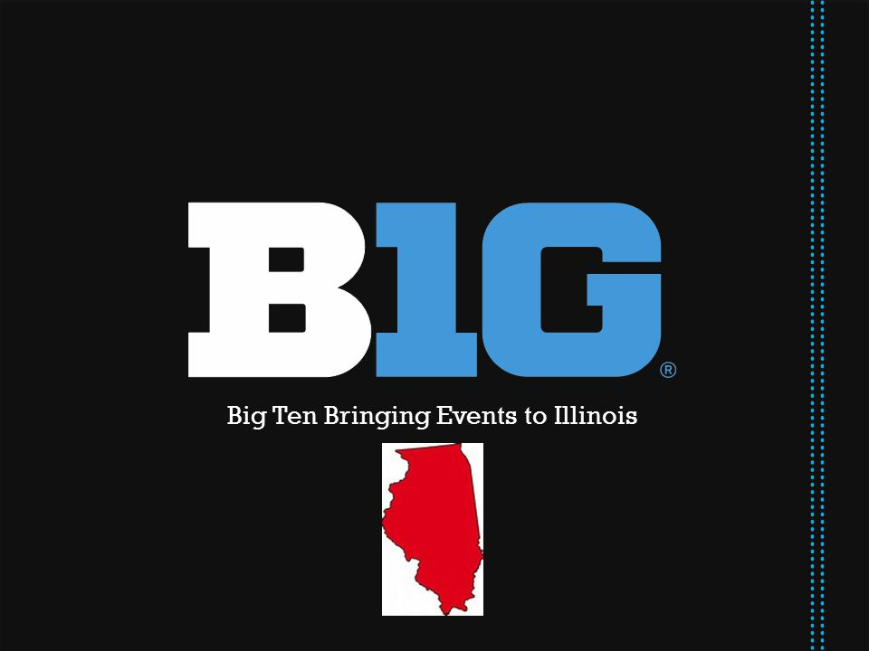 Big Ten Bringing Events to Illinois