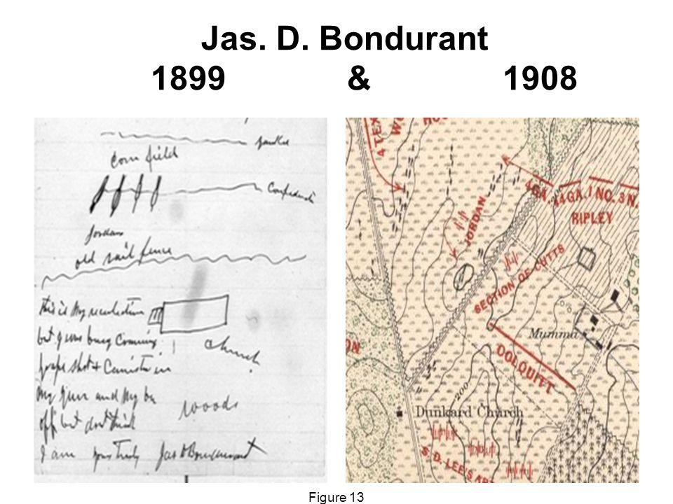 Jas. D. Bondurant 1899 & 1908 Figure 13