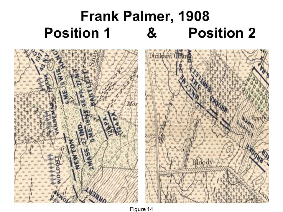 Frank Palmer, 1908 Position 1 & Position 2 Figure 14