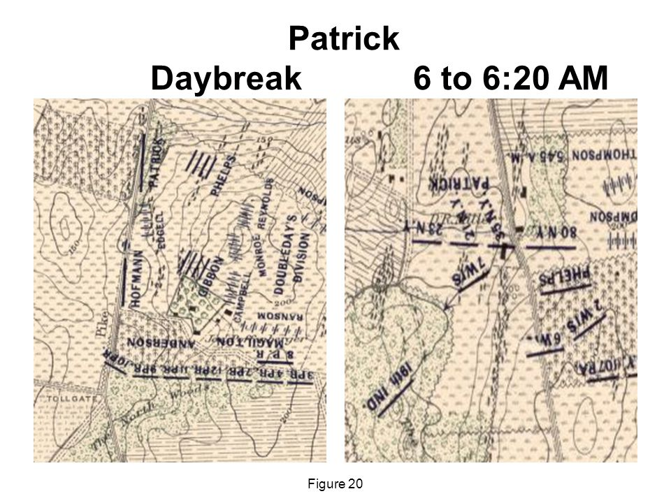 Patrick Daybreak 6 to 6:20 AM Figure 20