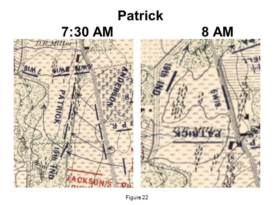 Patrick 7:30 AM 8 AM Figure 22