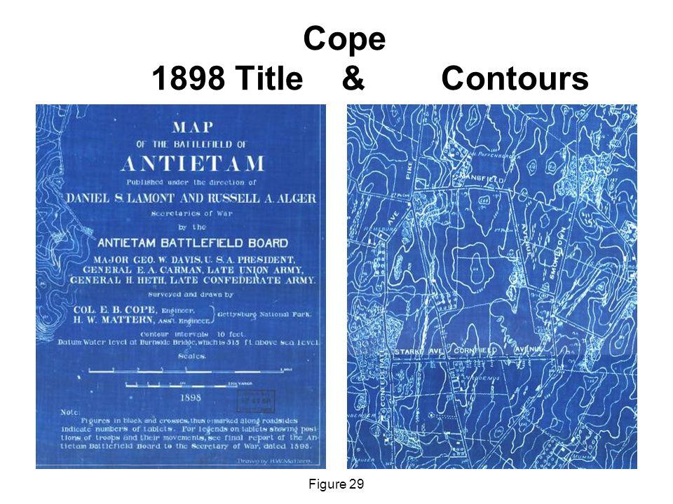 Cope 1898 Title & Contours Figure 29