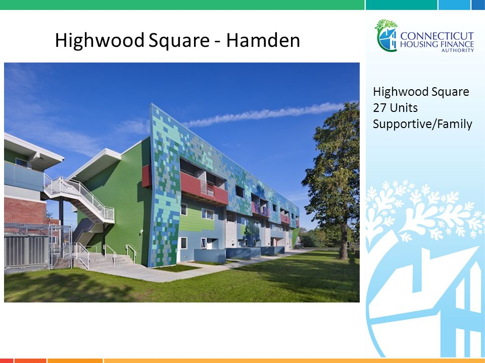 Highwood Square - Hamden Highwood Square 27 Units Supportive/Family