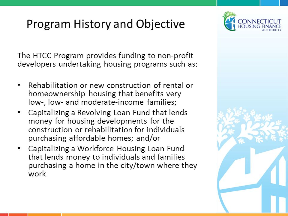 HTCC Closeout Failure to comply with closeout provisions may result in point penalties of five points (5 pts) for all subsequent applications for a period of two (2) consecutive HTCC funding rounds