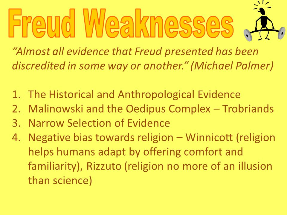 """""""Almost all evidence that Freud presented has been discredited in some way or another."""" (Michael Palmer) 1.The Historical and Anthropological Evidence"""