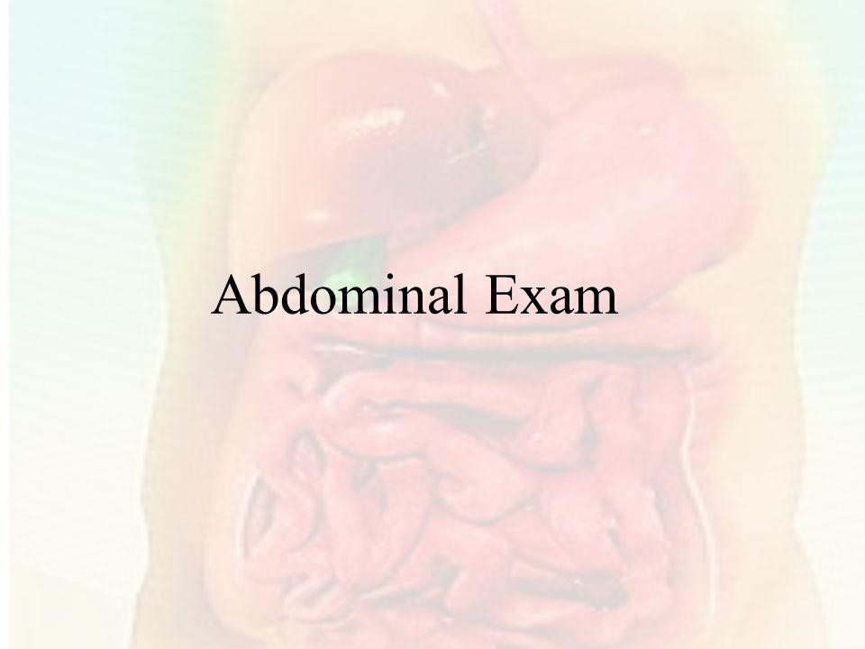 Abdominal Exam