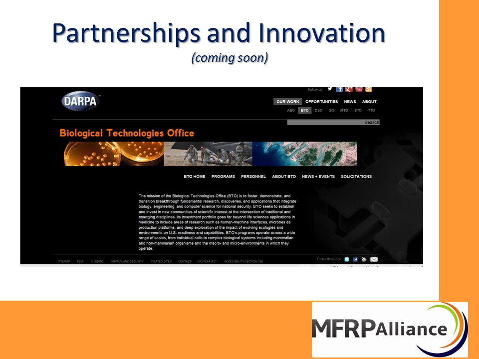 Partnerships and Innovation (coming soon)