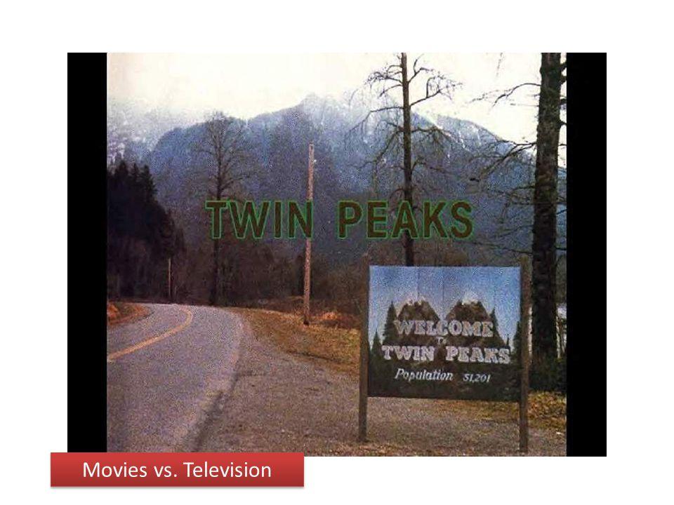 Movies vs. Television