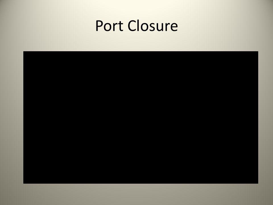 Port Closure