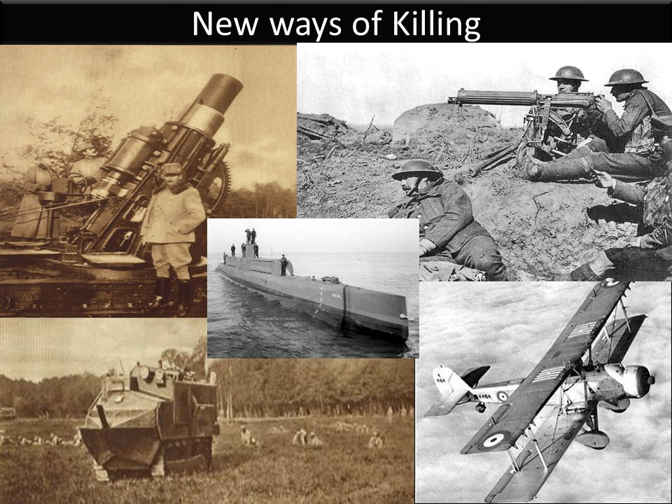 New ways of Killing