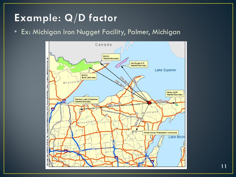 11 Ex: Michigan Iron Nugget Facility, Palmer, Michigan