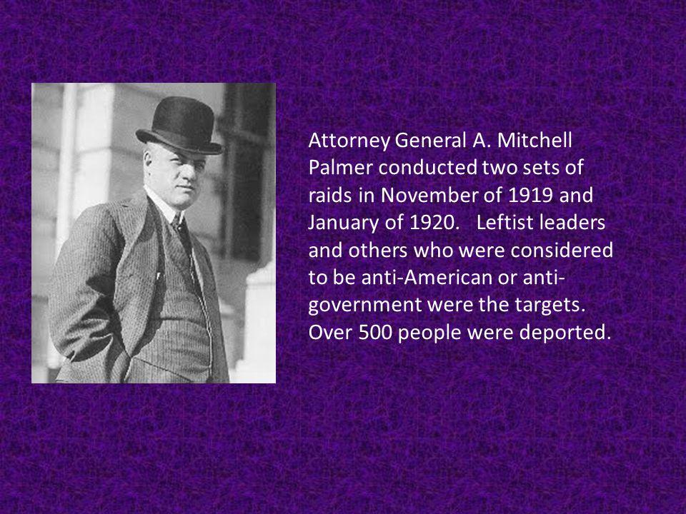 Attorney General A.