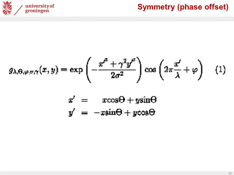 20 Symmetry (phase offset)