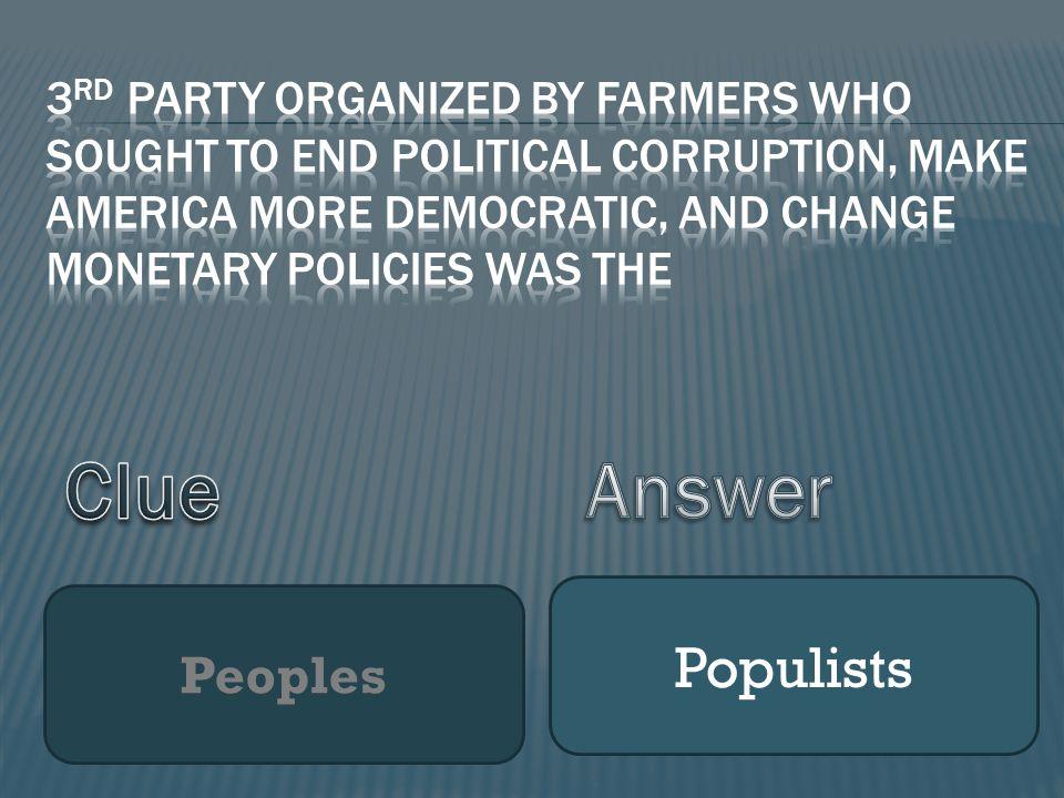 Peoples Populists