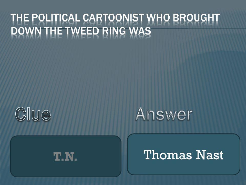 T.N. Thomas Nast