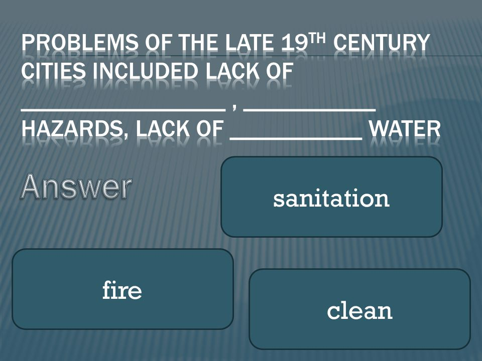 sanitation fire clean
