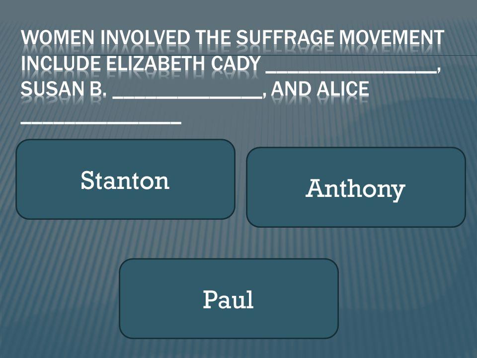 Stanton Anthony Paul