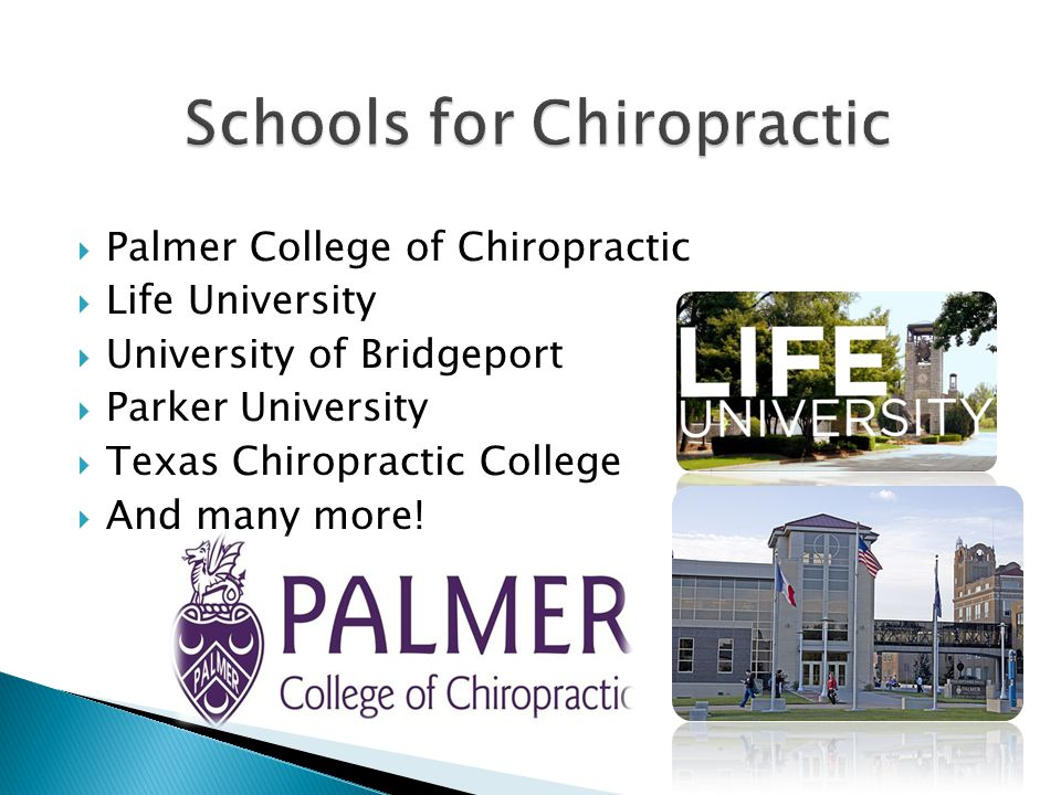  Often referred to as Chiropractors  3-5 years at an accredited chiropractic college  4,200 hours of classroom, lab, and clinical experience  555 hours of adjustive technique and spinal analysis  National board exam and all state exams for where chosen practice is located