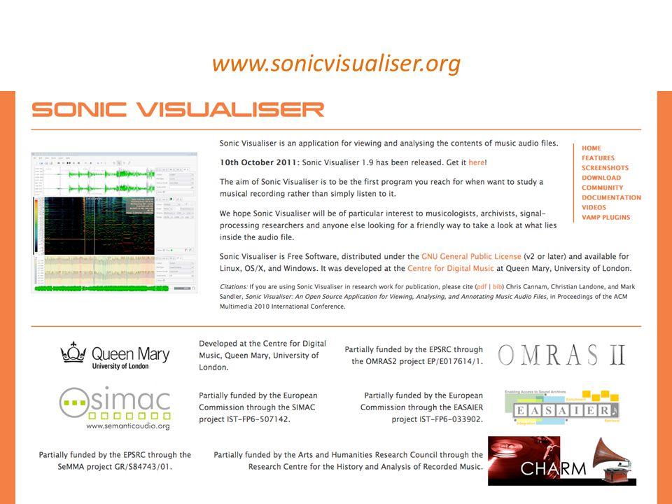 www.sonicvisualiser.org