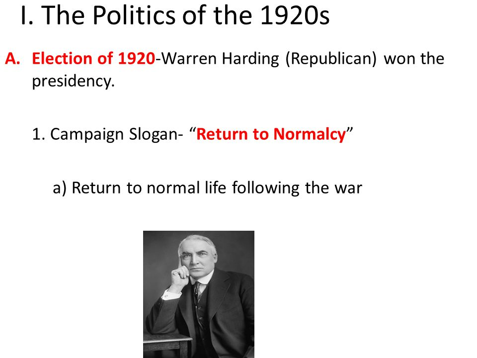 B.Harding's administration and cabinet was plagued by scandal.