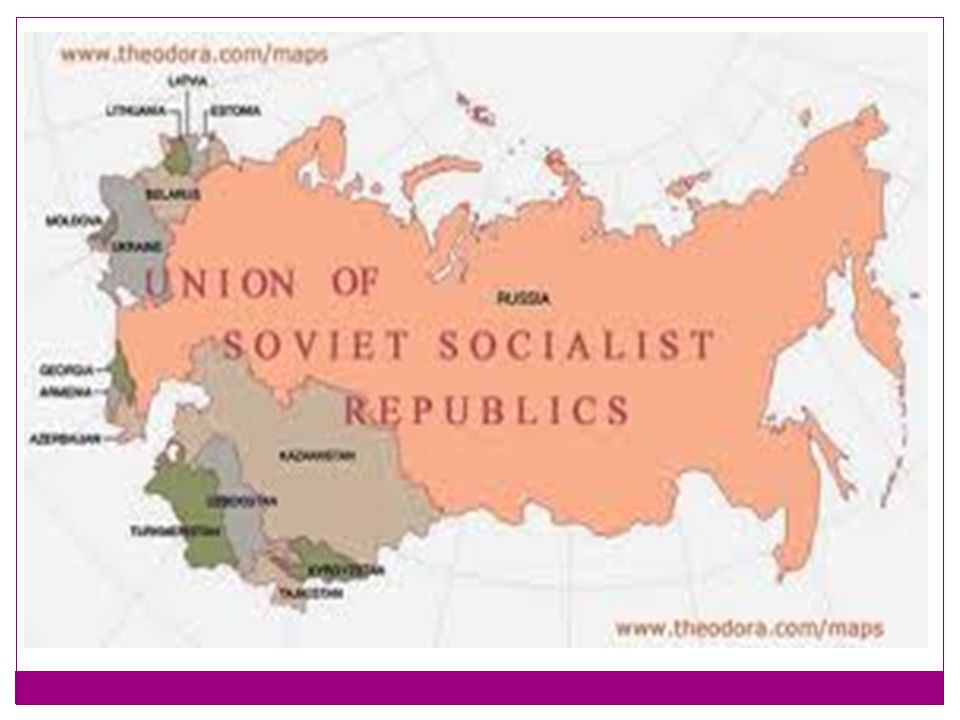 REACTION Soviets wanted to overthrow capitalism.