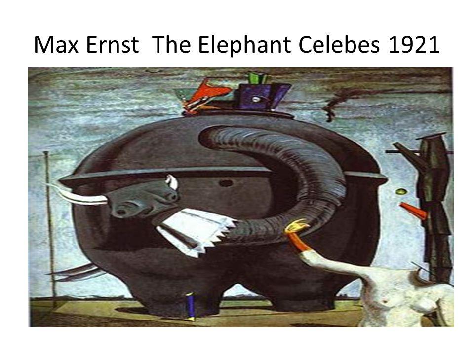 Max Ernst The Elephant Celebes 1921