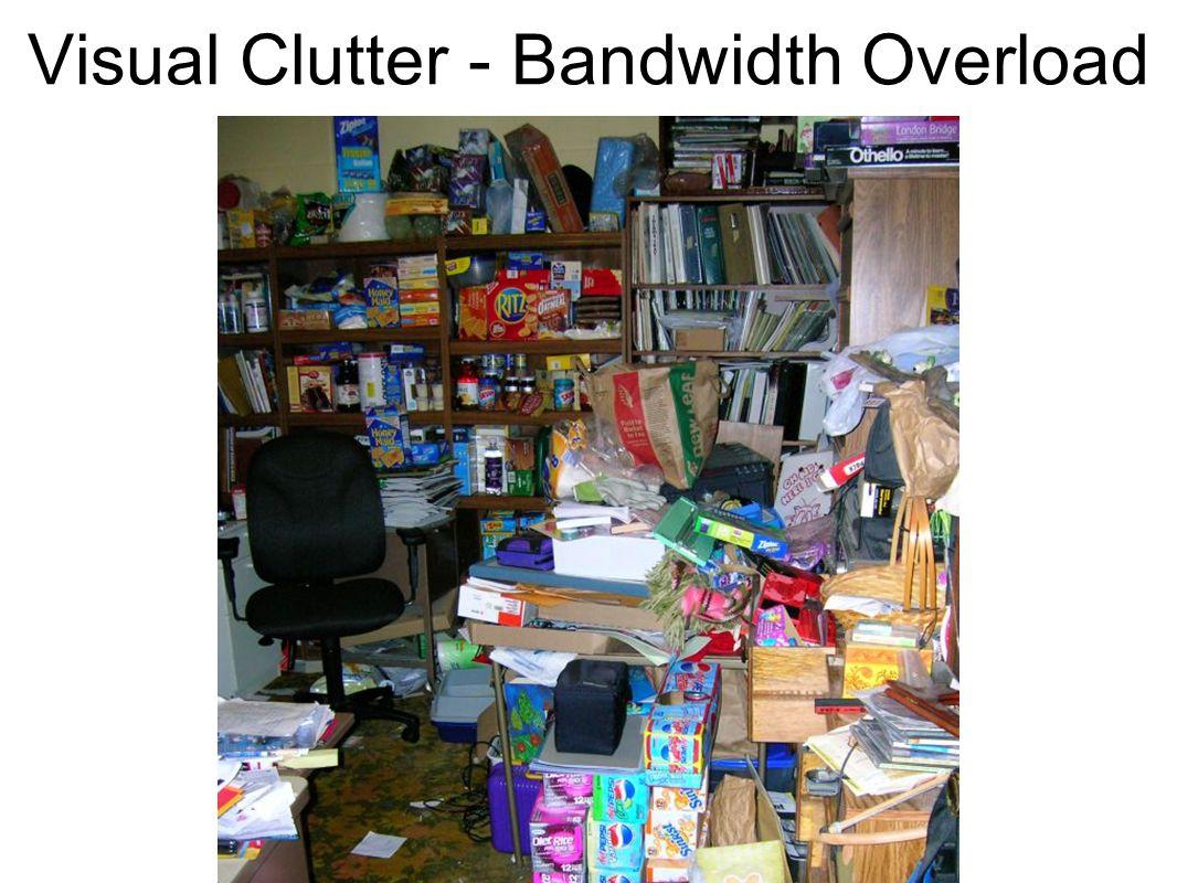 Visual Clutter - Bandwidth Overload