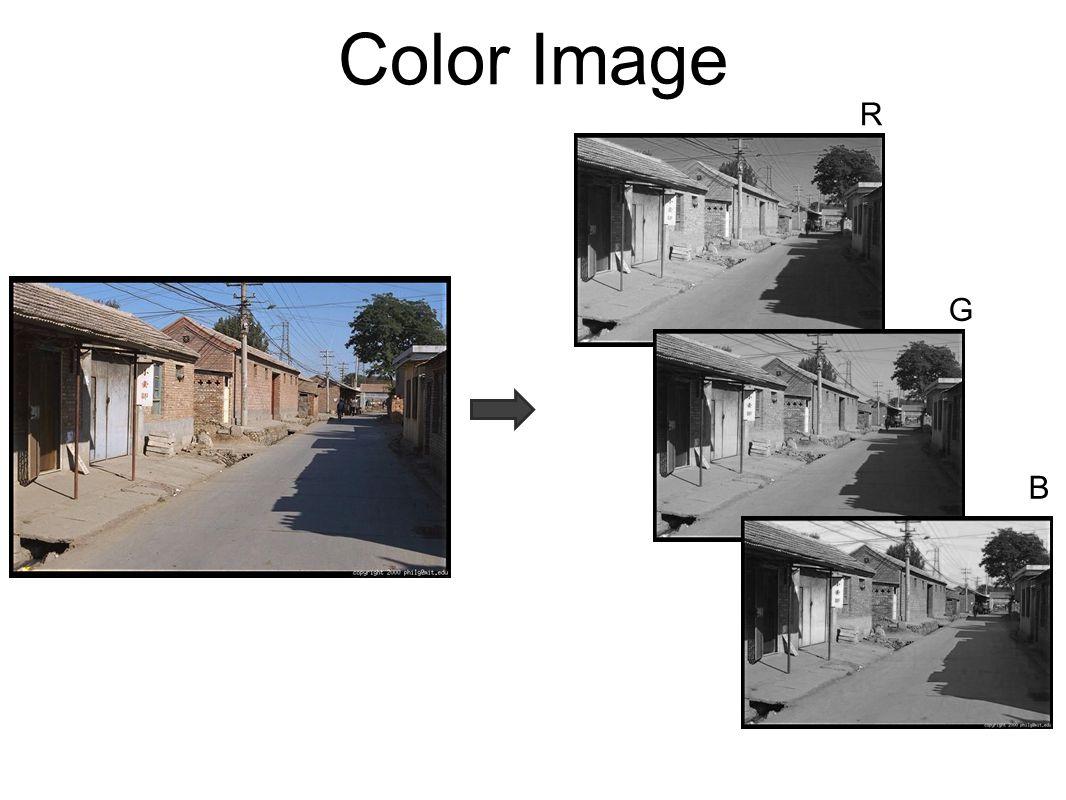 Color Image R G B
