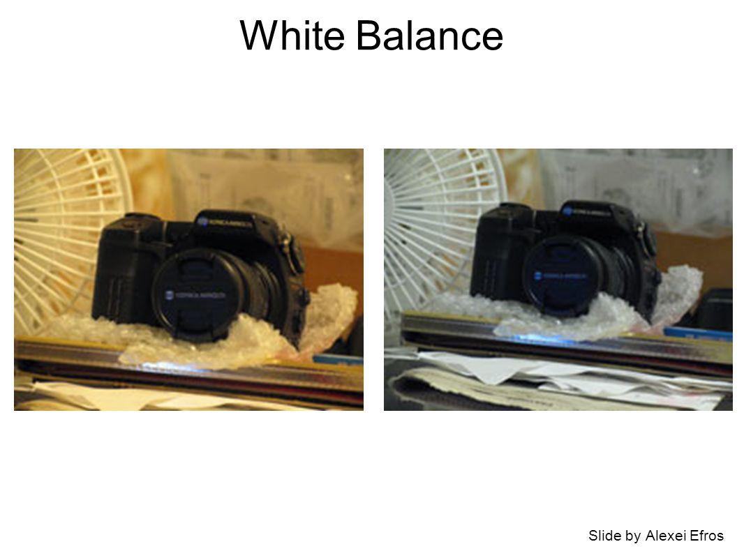 White Balance Slide by Alexei Efros