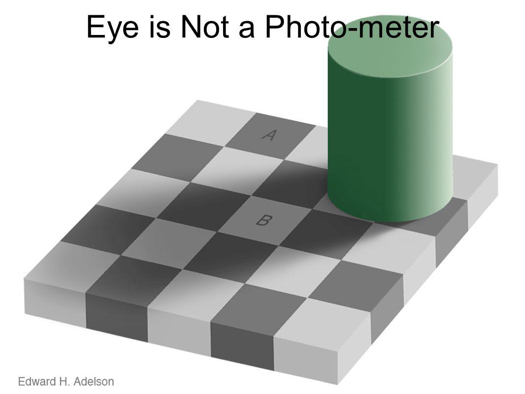 Eye is Not a Photo-meter