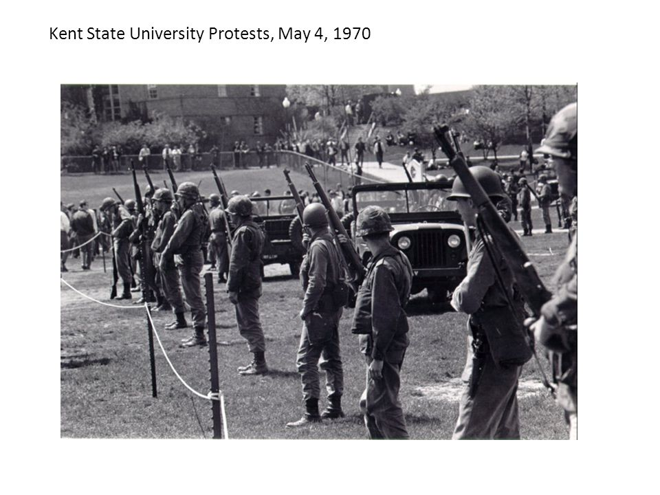 Kent State University Protests, May 4, 1970