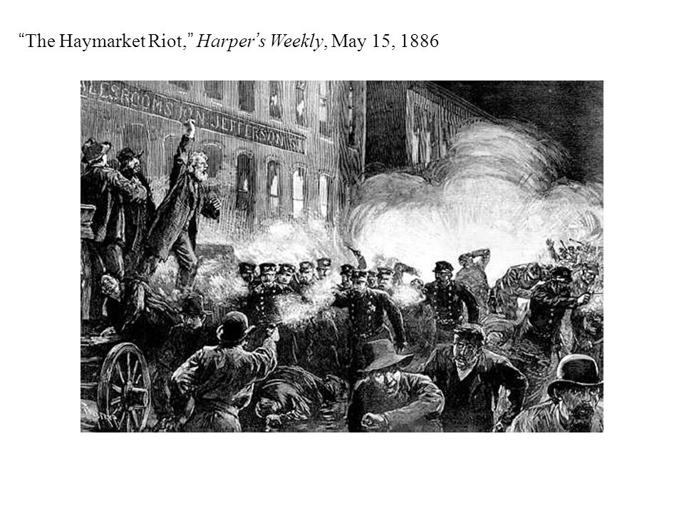 The Haymarket Riot, Harper's Weekly, May 15, 1886