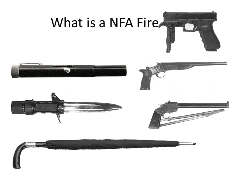 What is a NFA Firearm Any Other Weapon ( AOW )