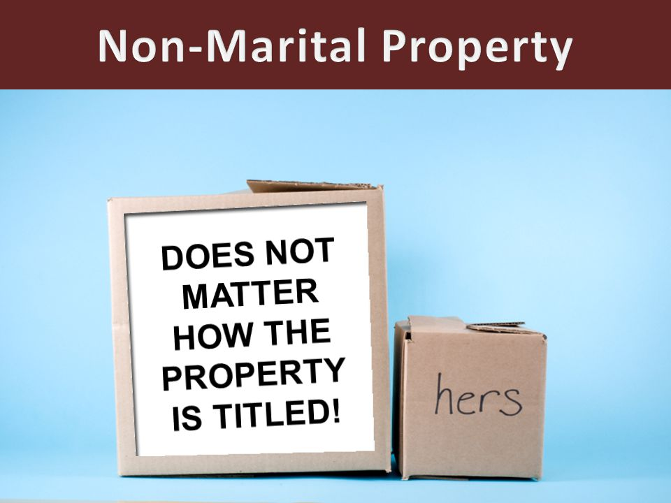Factors To Consider 1.Duration of Marriage 2.Value of the property owned by the parties 3.Ages of the parties 4.Health of the parties 5.Competency of the parties to earn a living 6.Contribution of each party to the accumulation of the property 7.Income producing capacity of the parties' assets.