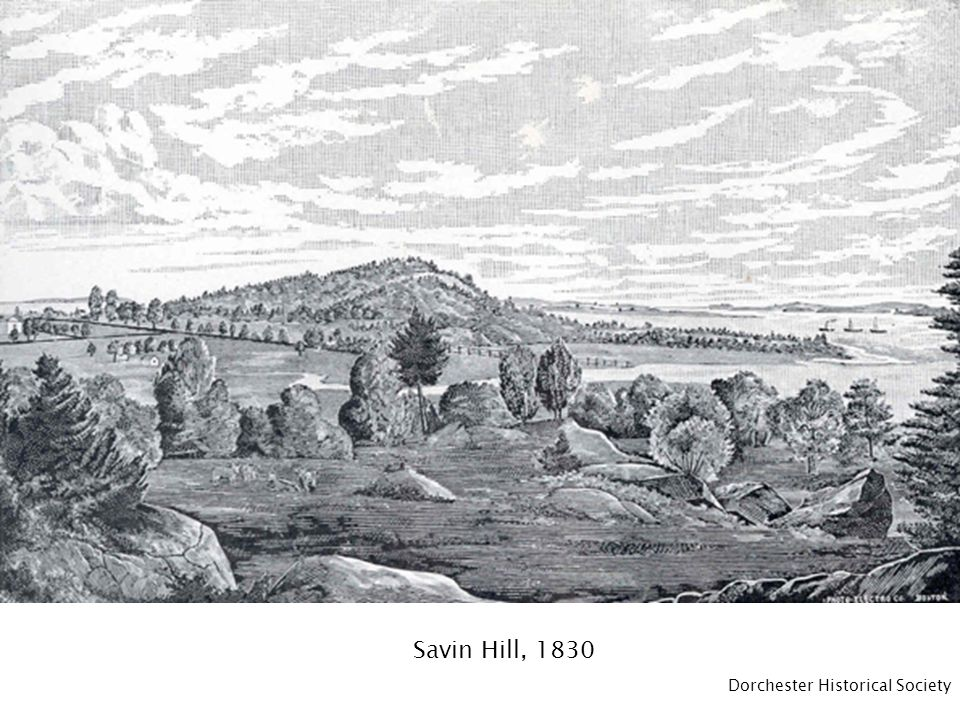 Savin Hill, 1830 Dorchester Historical Society