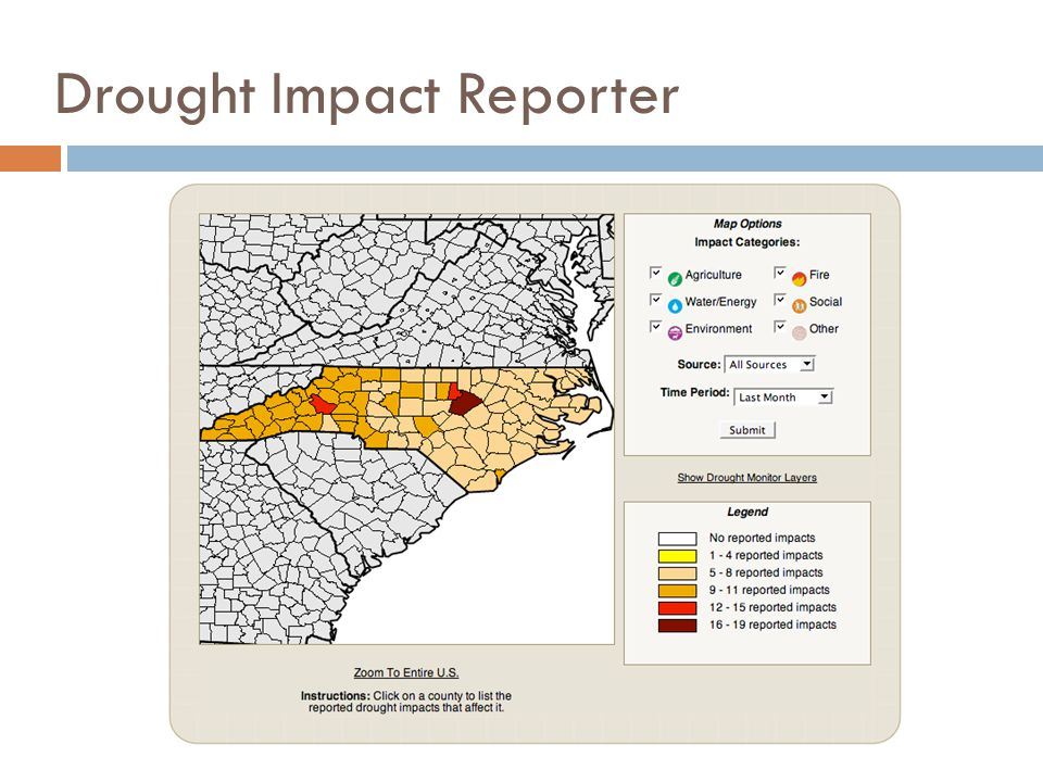 Drought Impact Reporter