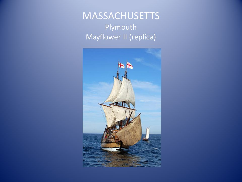 MASSACHUSETTS Plymouth Mayflower II (replica)