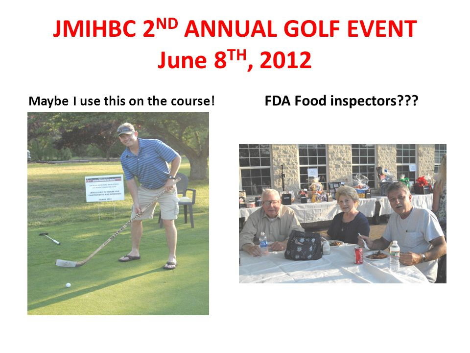 Maybe I use this on the course. FDA Food inspectors??.