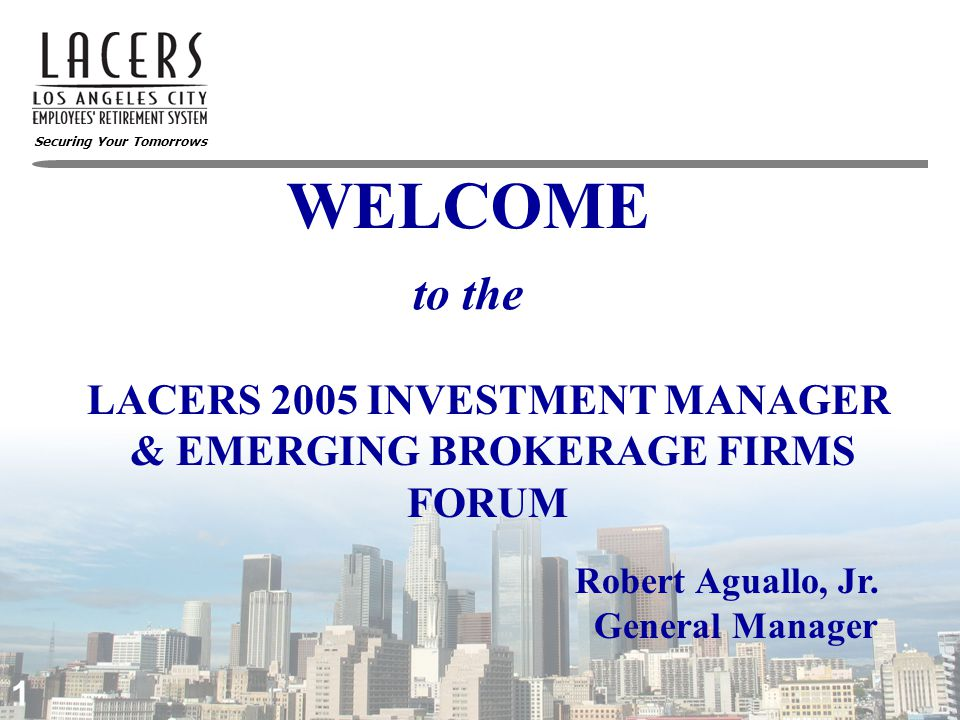 Securing Your Tomorrows 2 Investment Managers Bonds  Lehman Brothers Asset Management, LLC  LM Capital Group, LLC  Loomis Sayles & Company, Inc.