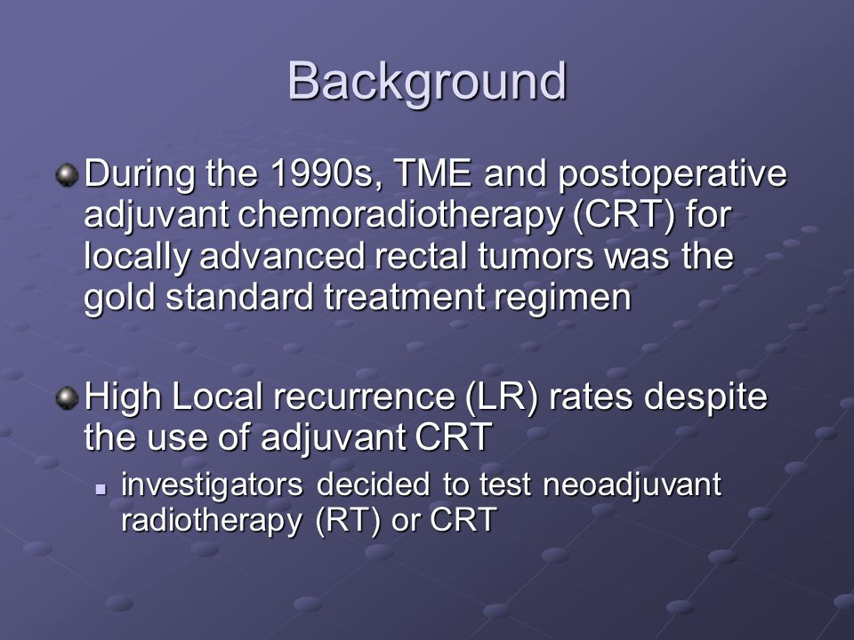Re-staging after neoadjuvant CRT After RT, both EUS and MRI offered poor diagnostic performance in the assessment of T and N stages Mezzi G.