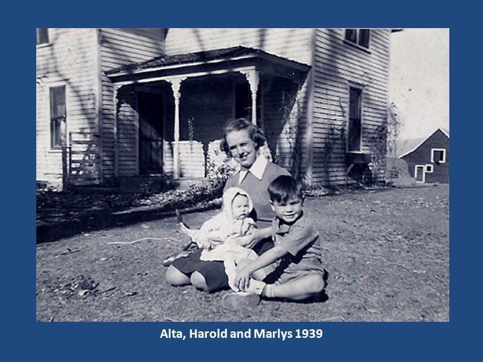 Alta, Harold and Marlys 1939