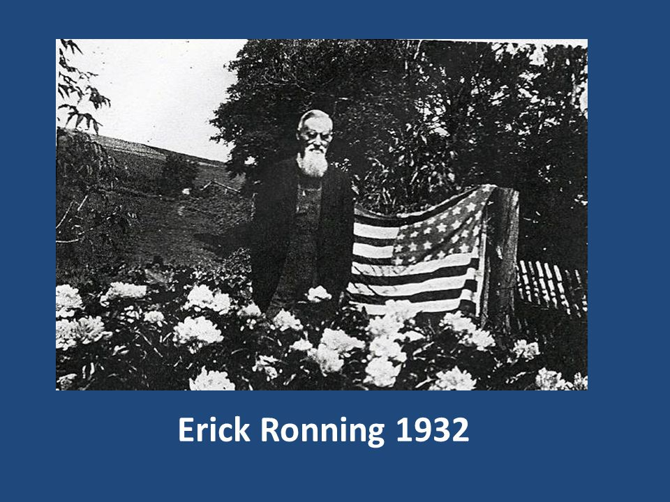 Erick Ronning 1932