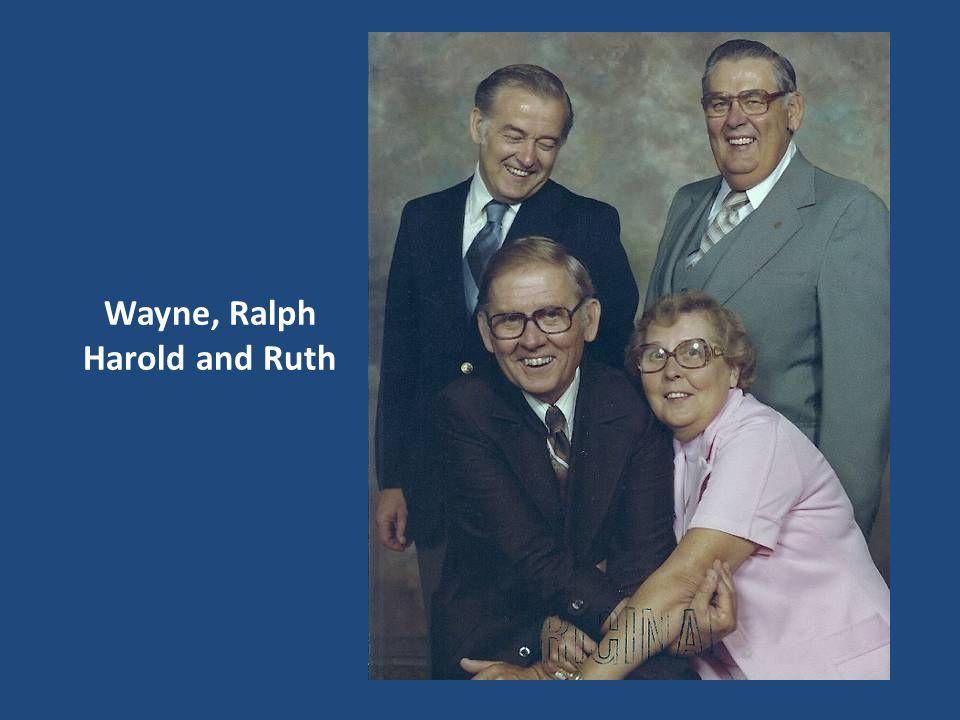 Wayne, Ralph Harold and Ruth