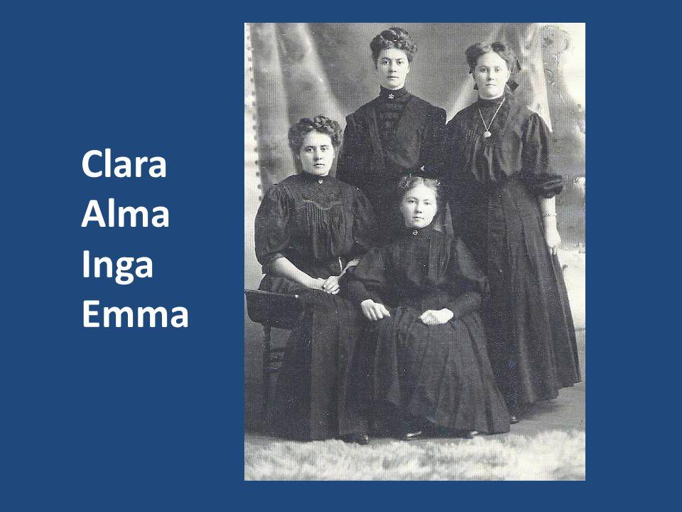 Clara Alma Inga Emma