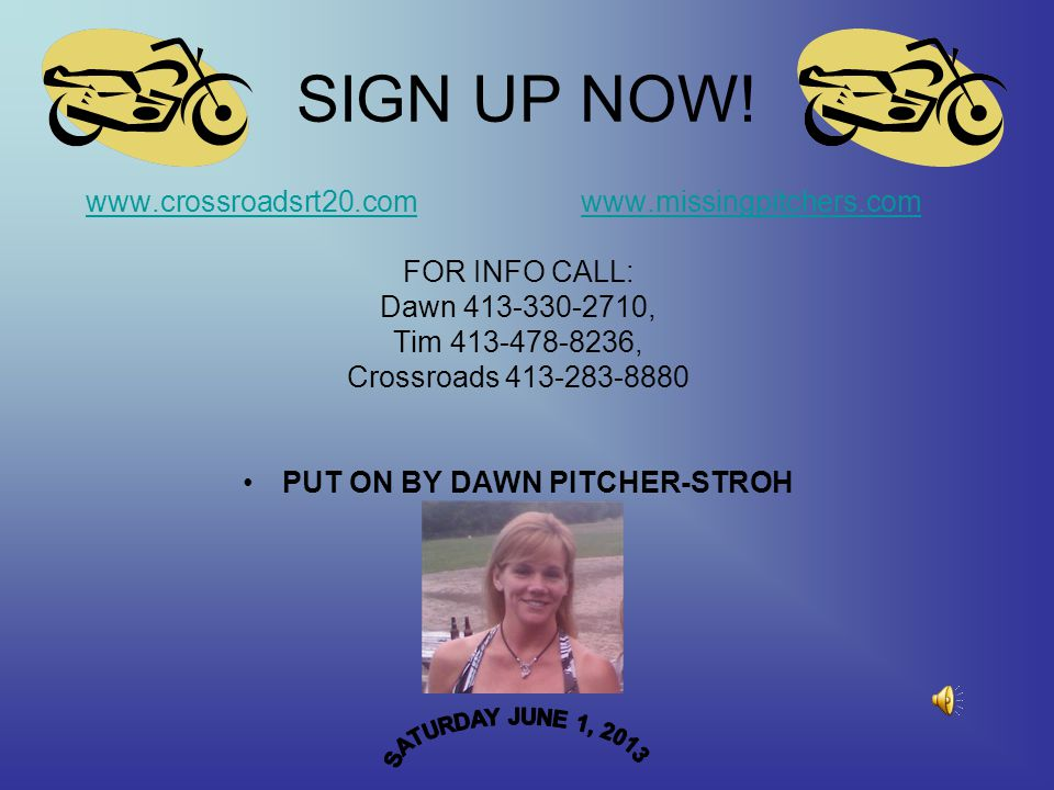 SIGN UP NOW.
